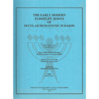 The Early Modern European Roots of Secular Humanistic Judaism