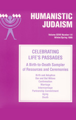 About Humanistic Jewish Life-Cycles