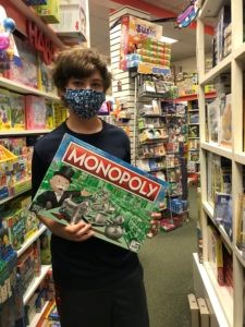 Thirteen-year-old Ari Priniotakis donated $1,400 worth of toys to Children's National Hospital for a bar mitzvah project.